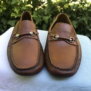 Bruno Magli Pogia driving loafers leather sz 8.5